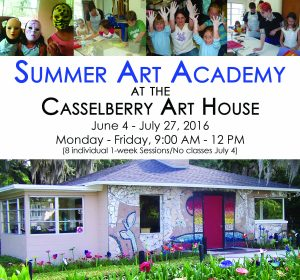 City of Casselberry's 2018 Summer Art Academy