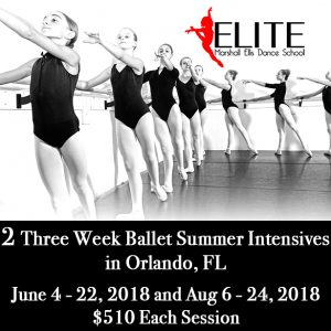 Summer Ballet and Dance Intensives