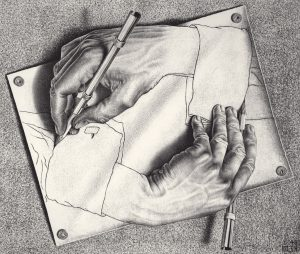 Vernissage for The Magical World of M. C. Escher