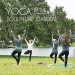 Yoga in the Sculpture Garden + Early Extended Museum Hours