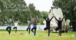 Yoga in the Sculpture Garden + Early Extended Muse...
