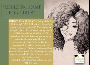 ADULTING CAMP FOR GIRL