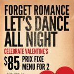 Valentine's Day at Taverna Opa
