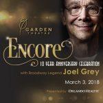 Encore: 10 Year Anniversary with Joel Grey