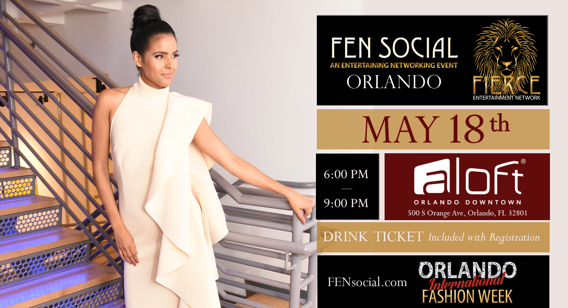 Fen Social A Networking Event Presented By Fierce Entertainment Management Orlandoatplay Com