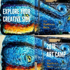 Middle School Summer Art Camp 2018