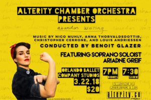 Alterity Chamber Orchestra featuring Ariadne Greif...