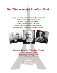An Afternoon of Chamber Music