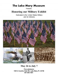 Annual Exhibit Honoring Our Military