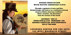 Randy Granger Meditation & Workshop