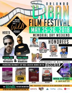 Orlando Urban Film Festival - 2018 OUFF MEMORIAL DAY WEEKEND CONTENT CREATORS NETWORK