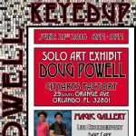 KEYED UP Solo Art Show