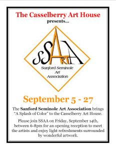 "Sanford Seminole Art Association - ""A Splash of Co..."