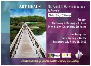 P.O.W. Artists & Friends - Art Heals III