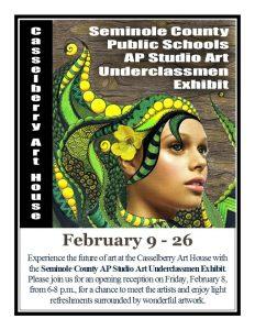 Seminole County AP Studio Art Underclassmen Exhibit