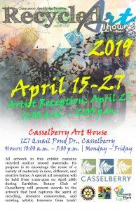 2019 Recycled Art Exhibit