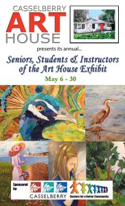 Seniors & Students of the Art House Exhibit