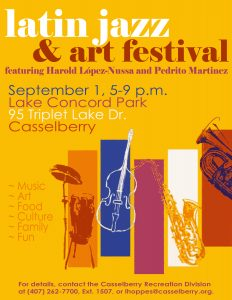 City of Casselberry Latin Jazz & Art Fest