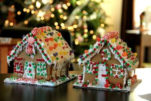 Family Night - Gingerbread Houses