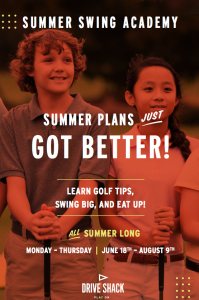 Drive Shack Launches Summer Swing Academy