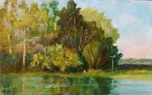 """Plein Air Paint Out"" and Exhibit"
