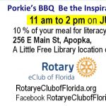 Literacy Lunch Porkie's Apopka