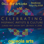 Celebrating Hispanic Artists and Culture: Juried Art Show- CALL FOR ARTISTS