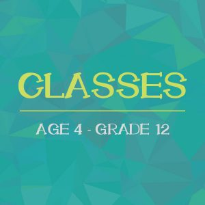 """Calling All Combatants!"" Youth & Teen Class"