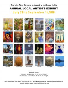 Annual Local Artists Exhibition