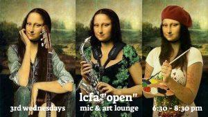 LCFA Open Mic & Art Lounge
