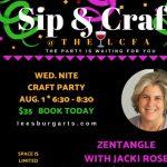 Sip & Craft - Zentangle