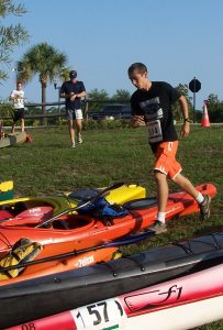 RunYak - Paddle and Foot Race