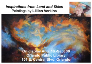 """""""Inspirations from Land and Skies"""" The art of Lill..."""