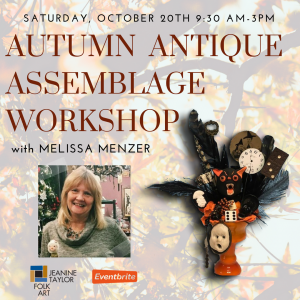Autumn Antique Assemblage Workshop with Melissa Me...