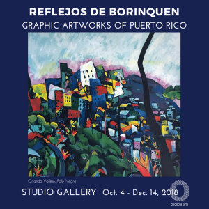 Reflejos de Borinquen: Obra Grafica Puertorriquena...