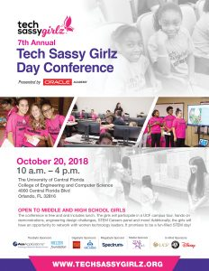Seventh Annual Tech Sassy Girlz Day Conference pre...