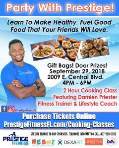 Party With Prestige Cooking Class