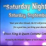 USA Dance Saturday Night Fever Ballroom Dance Party & Performances