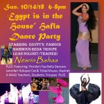 """Egypt Is In The House"" Hafla Dance Party"