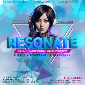 RESONATE: Silent Headphone Fashion Show