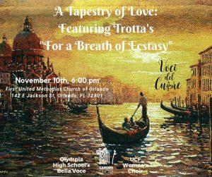"""A Tapestry of Love: Featuring Trotta's """"For a Breath of Ecstasy"""""""