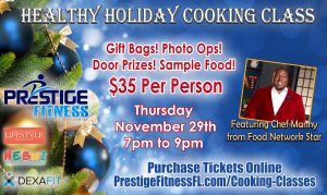 Celebrity Cooking Class with FoodNetwork TV Star F...