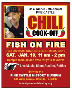 Pine Castle Historical Society Annual Chili Cookoff