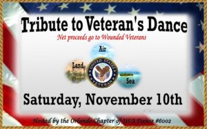 Tribute to Veterans, Ballroom Dance Show & Party