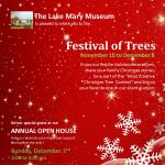 Festival of Trees at the Lake Mary Museum