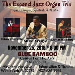 Mike Arroyo: The Expand Jazz Organ Trio