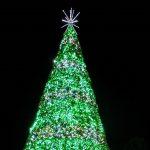 Celebrating Christmas at Lake Eola