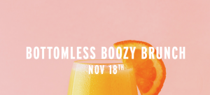 Drive Shack Hosts a Thanksgiving Boozy Brunch!