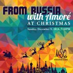 From Russia with Amore at Christmas