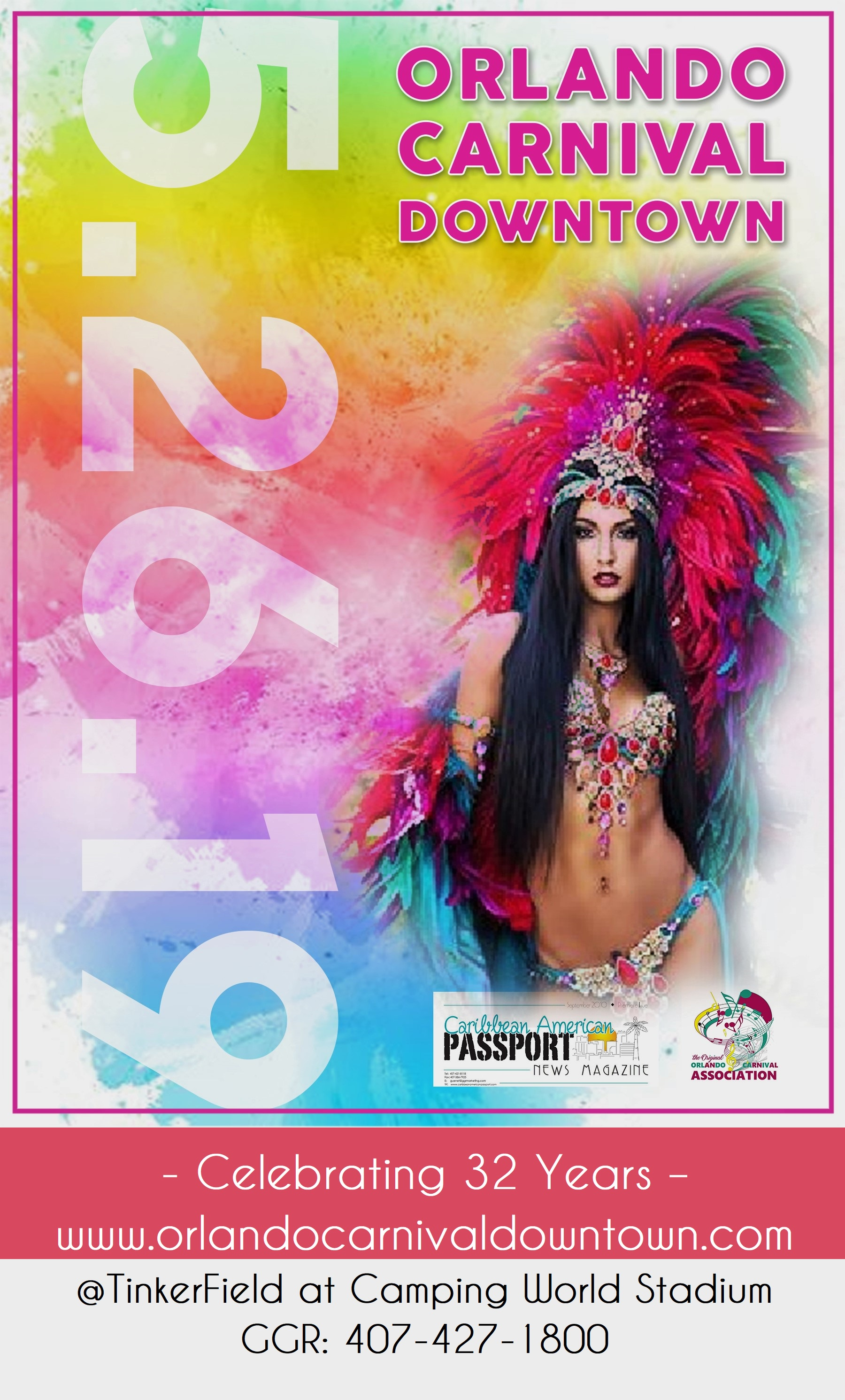 7375fd55739180 Orlando Carnival Downtown 2019 presented by Caribbean American Passport  Foundation